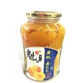 魁牌黄桃罐头